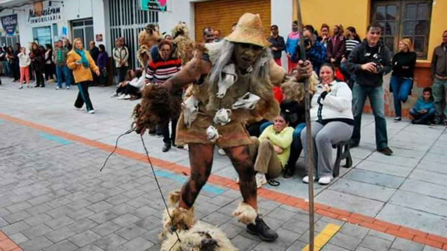 Un participante en la fiesta de Los Carneros. (RCI)