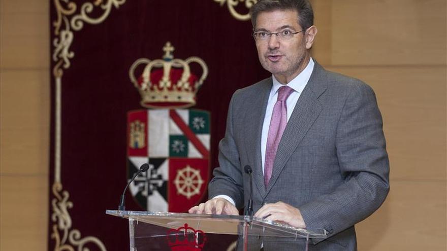Catalá: No se justifica una instrucción tan larga de la querella contra Más