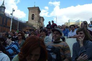 El público asistente se lo pasó en grande con las actuaciones programadas | Foto: SOMOSMALASAÑA