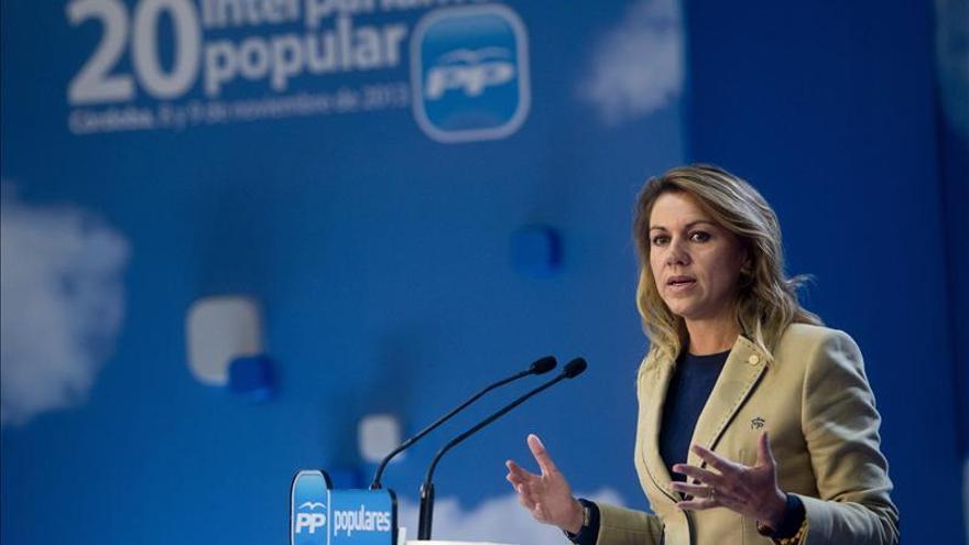 Cospedal no ve en el PSOE ni proyecto político ni discurso sobre España