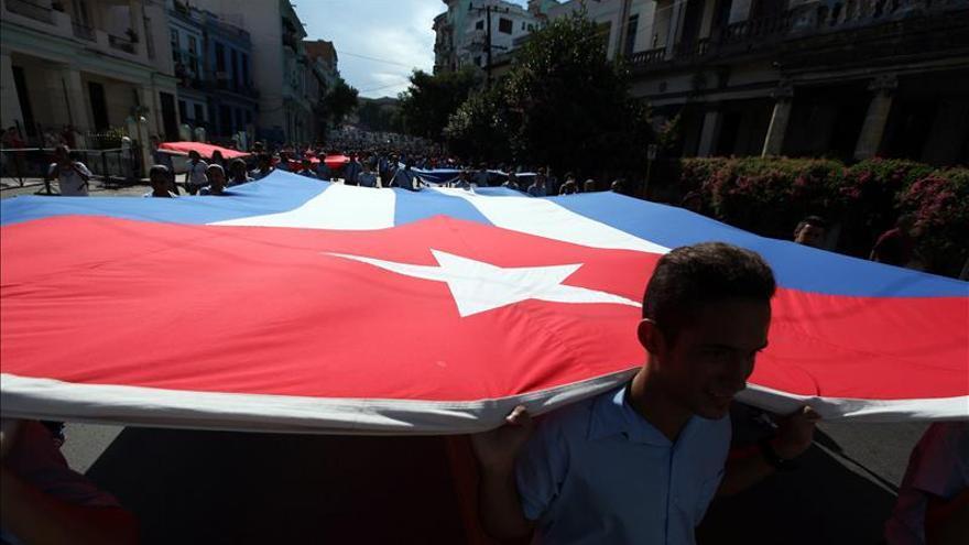 Estudiantes de Cuba piden justicia a la desaparición de los jóvenes mexicanos