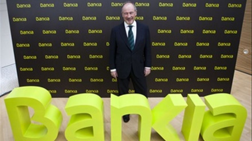 Rodrigo Rato, Presidente De Bankia