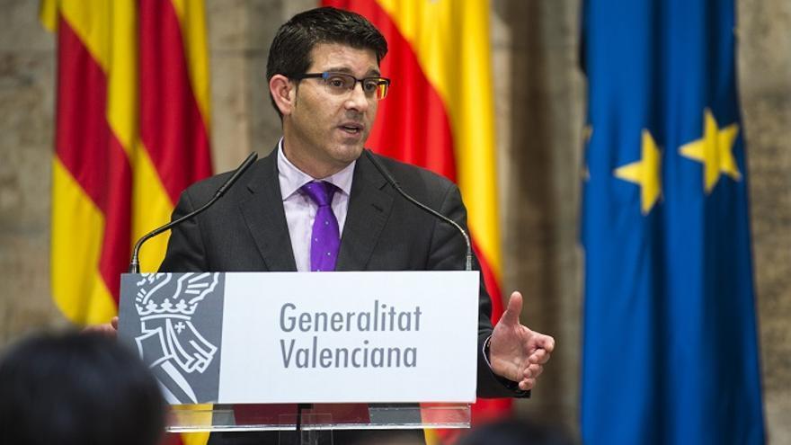 Jorge Rodríguez, durant la presentació del Fons de Cooperació Municipal