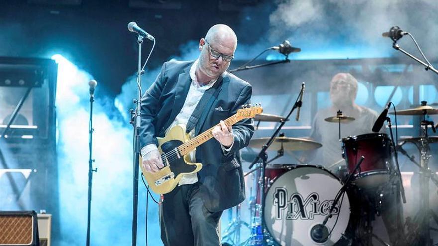 Los Pixies llenan de nostálgica energía la segunda jornada del Bilbao BBK Live