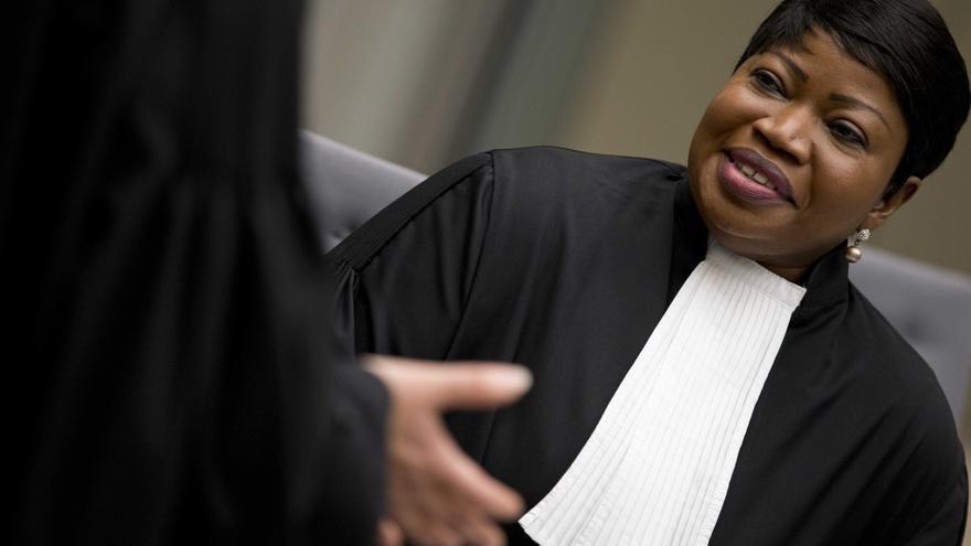 En la imagen, la fiscal general de la Corte Penal Internacional (CPI), Fatou Bensouda. EFE/Peter Dejong/Archivo