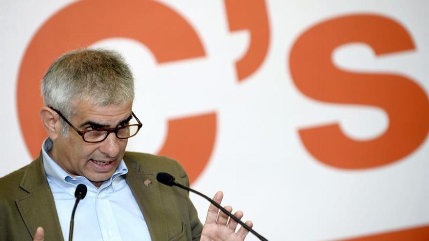 Ciudadanos pide a Rajoy que convoque una mesa con los partidos constitucionalistas