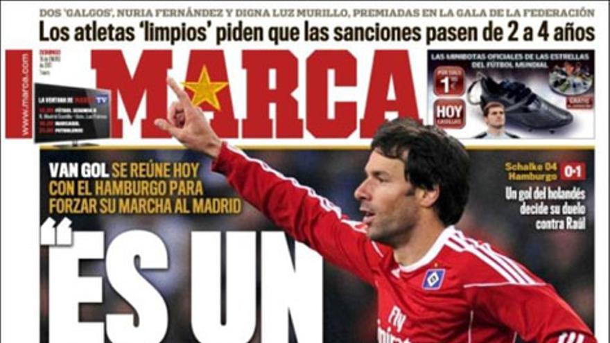 De las portadas del día (16/01/2011) #9
