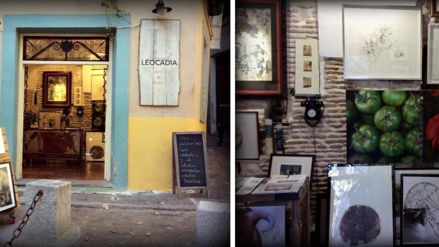 Galería Leocadia, Toledo / Foto y montaje: María D. Alba