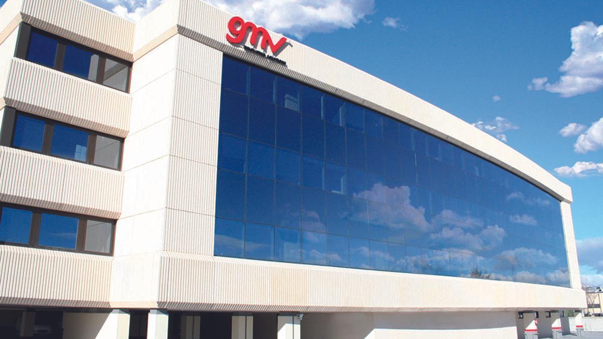 Sede de la empresa madrileña GMV