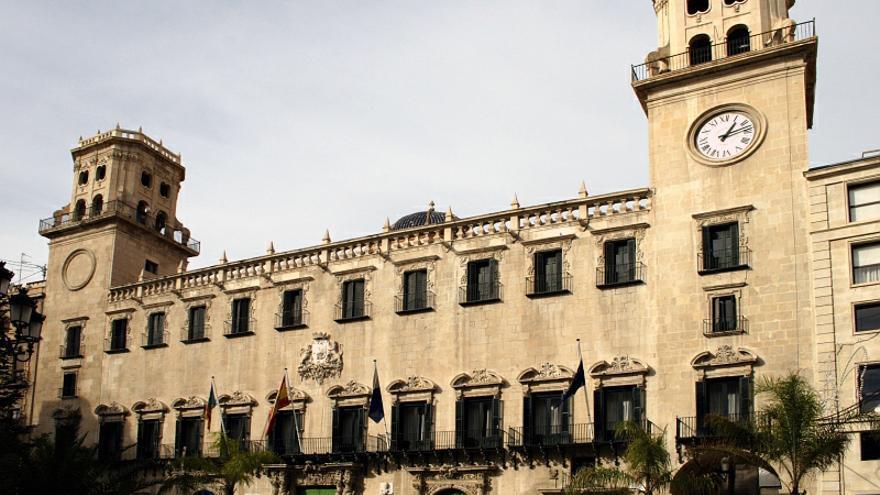 El ayuntamiento de Alicante