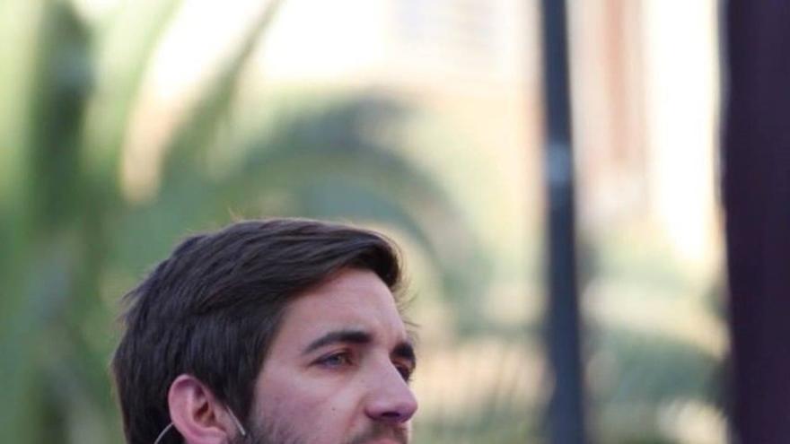 Fernando Navarro, concejal de Podem en Castelló y candidato a secretario general autonómico.