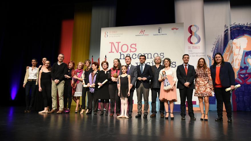 Premiadas en el Día de la Mujer de Castilla-La Mancha