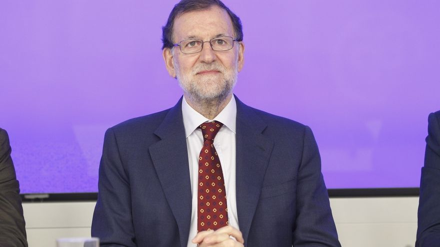 Mariano Rajoy, presidente del Gobierno, este lunes.