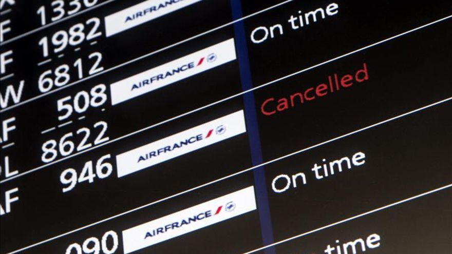 Sindicatos de Air France convocan una huelga para el 5 de octubre