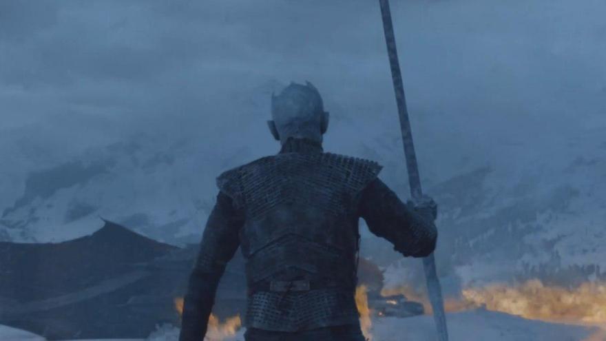 El Rey de la Noche con Drogon en el punto de mira