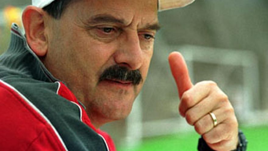 Sergio Kresic, entrenador de la UD Las Palmas.
