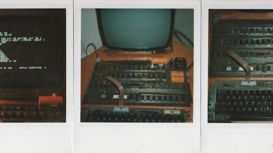 Algunas imágenes del Apple I captadas por la Polaroid de Terrell
