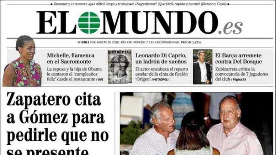 De las portadas del día (06/08/2010) #2