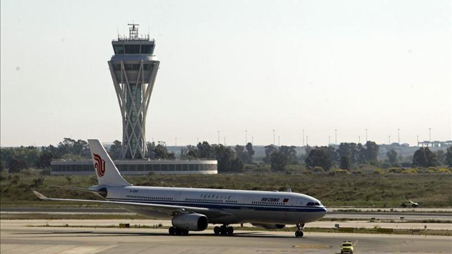 El tráfico aéreo crece un 5,3 % en enero, hasta 11,5 millones de pasajeros