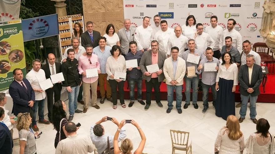 Córdoba Califato Gourmet finaliza con la entrega de premios y el 'showcooking' oficial