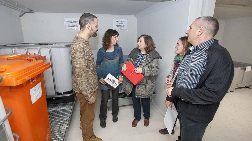 El Gobierno de Navarra financiará con 2,8 millones la puesta en marcha de puntos limpios en once mancomunidades