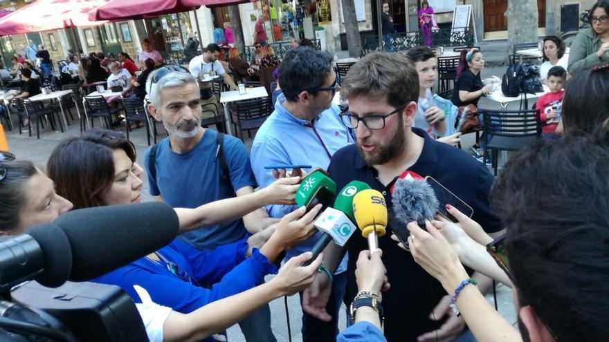 """Urbán (Podemos): """"El domingo nos jugamos tener una Europa de recortes o una Europa de justicia social"""""""