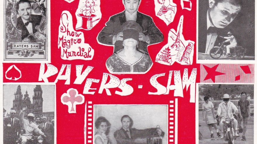 Cartel anunciador del show de Rayers Sam.
