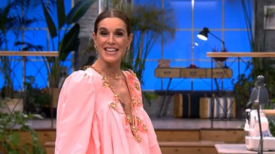 Raquel Sánchez Silva en 'Maestros de la costura'