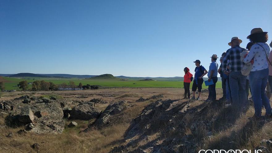 Restos del poblado minero de la mina de la Loba.