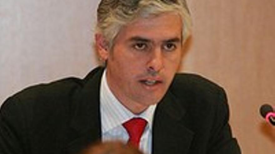 Carlos Sánchez, portavoz del PP en el Cabildo.