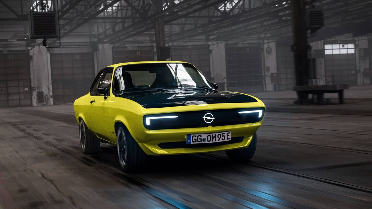 Opel Manta GSe Elecktromod.