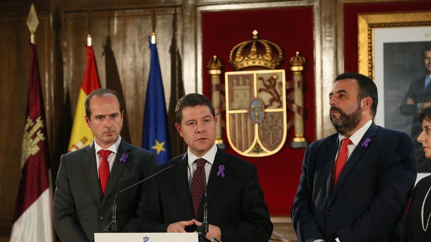 Emiliano García-Page y José Luis Blanco