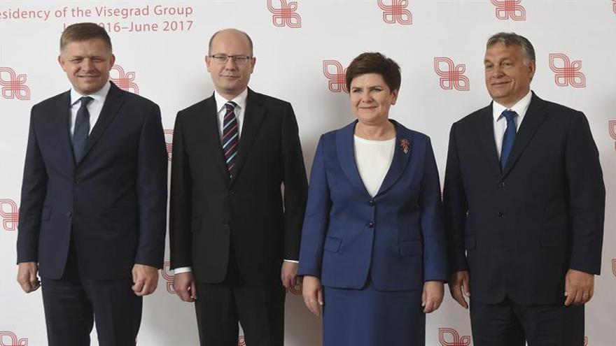 Los países del grupo de Visegrado ratifican su oposición al sistema de cuotas de refugiados