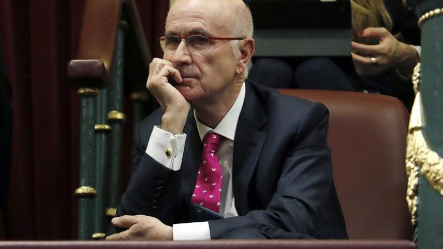 El expresidente de Unió, Duran i Lleida, en el Congreso en una imagen de archivo.