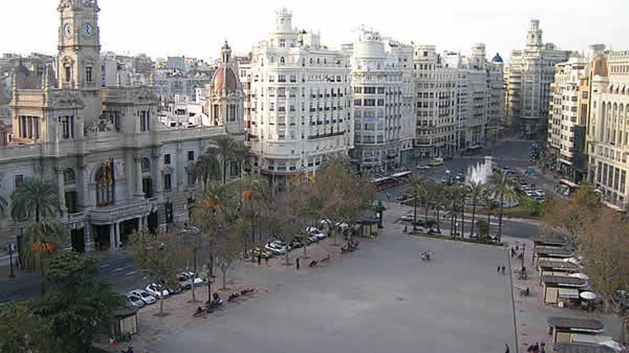 Imagen de la plaza del Ayuntamiento