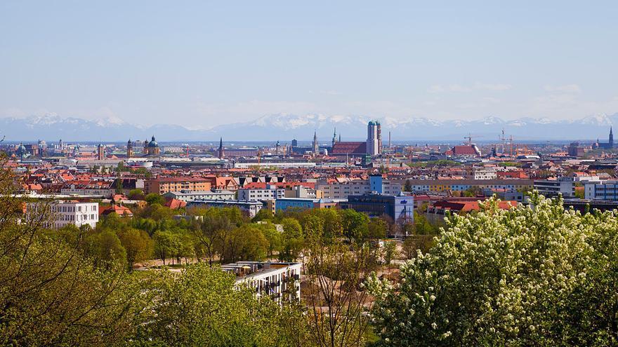 Vista panorámica de Múnich donde Spri abrió oficina en el 2014.