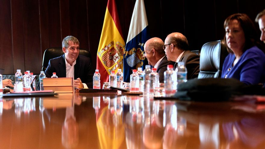 Consejo de Gobierno de Canarias celebrado este martes.