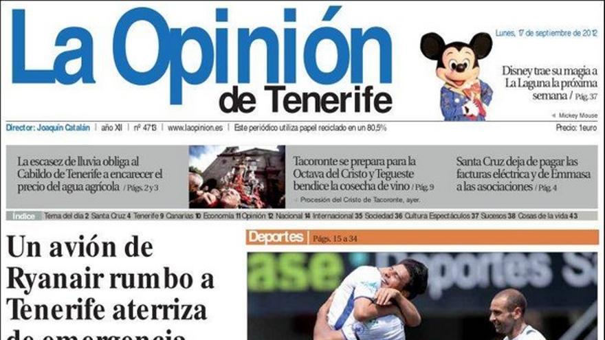 De las portadas del día (17/09/2012) #5