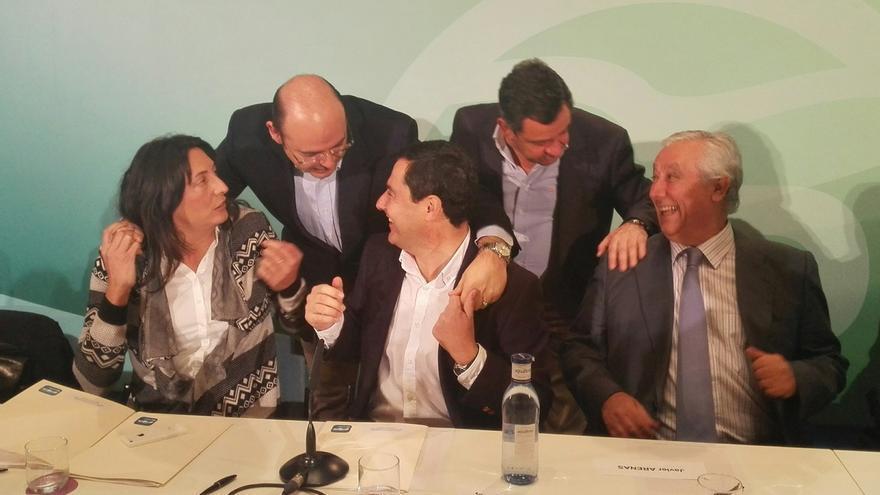 """Moreno dice que """"el efecto Susana Díaz se ha desinflado"""" y que el PP-A ya habla de """"tú a tú"""" al PSOE-A"""