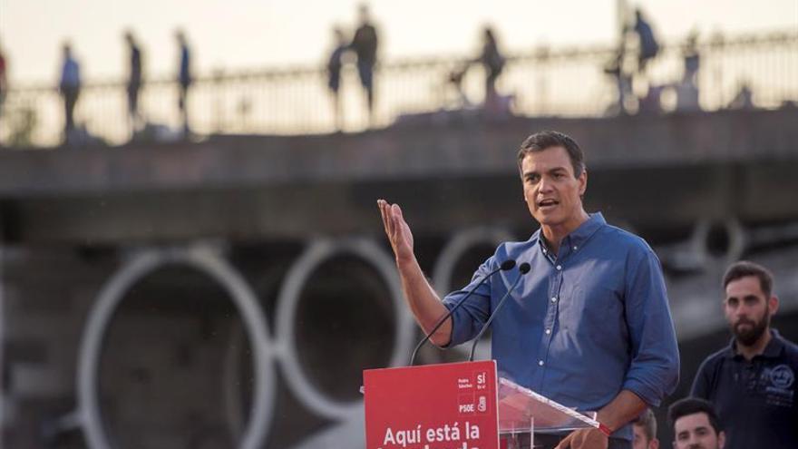 Sánchez garantiza unidad y apela al socialismo andaluz para liderar el cambio