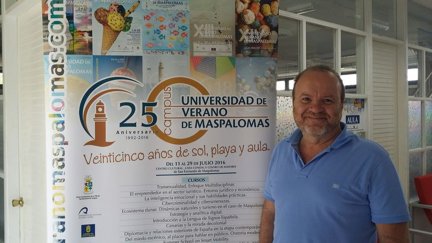El periodista Míchel Jorge Millares