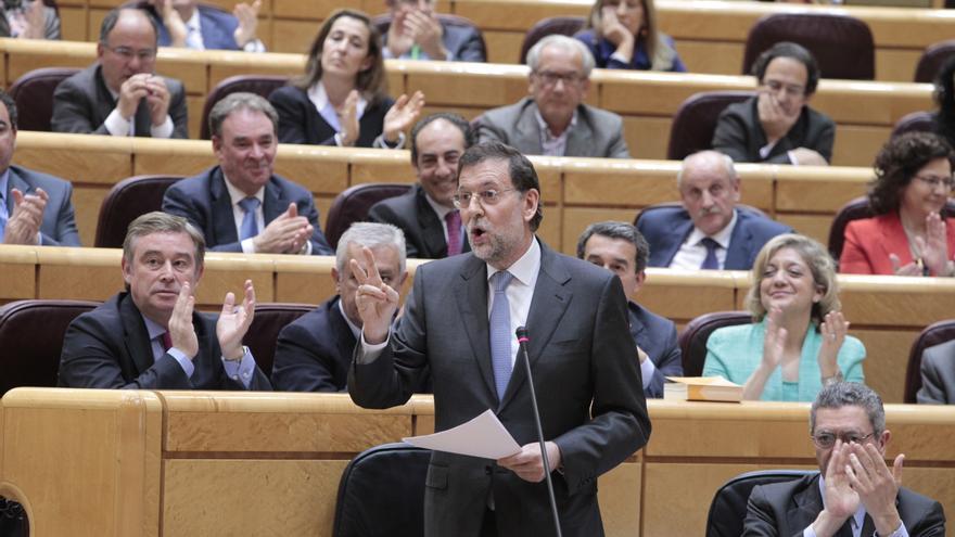 Rajoy no se someterá en septiembre a ninguna sesión de control en el Senado por motivos de agenda