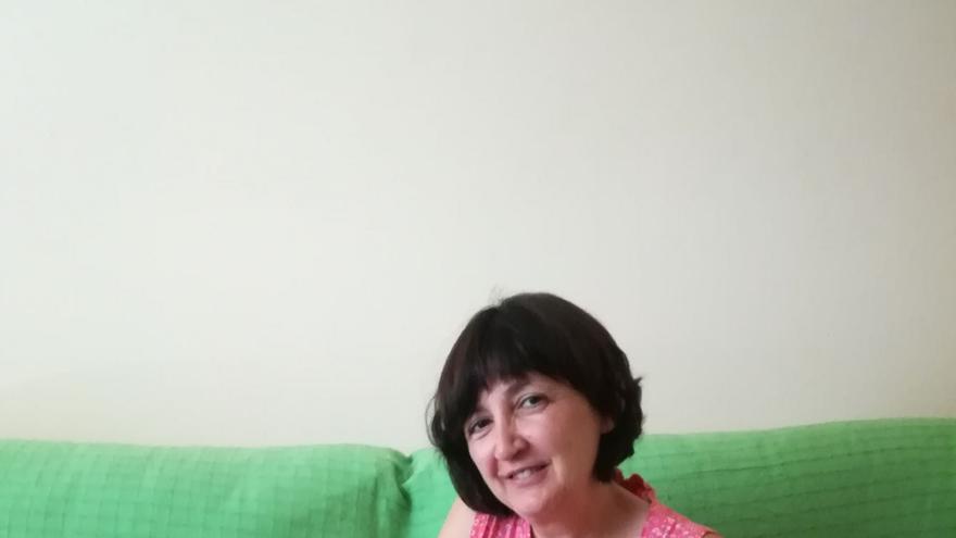 María Ángeles fue madre con 41 años tras superar un cáncer / Foto cedida