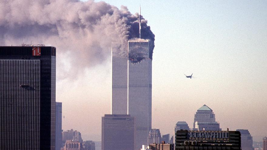 Atentados en Manhattan, el 11 de septiembre de 2001.