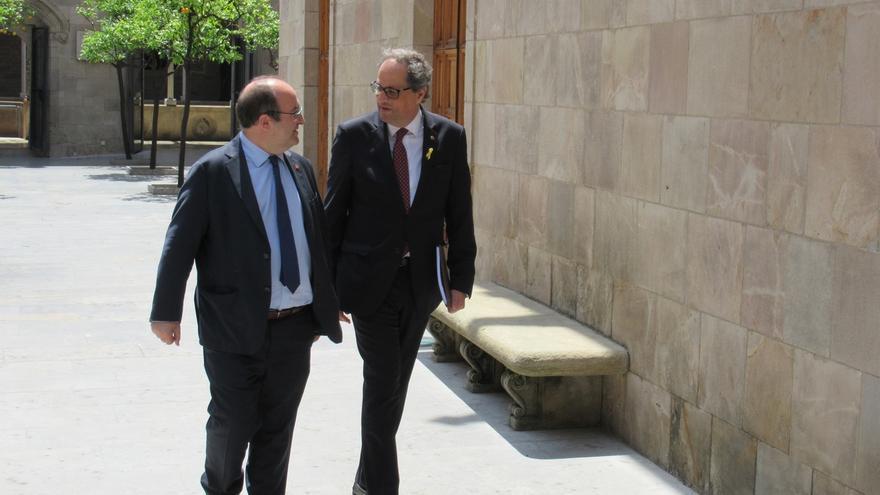 """Torra traslada a Iceta la importancia de reunirse con Sánchez y conocer su """"oferta"""""""