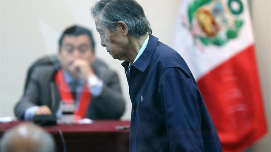 Alberto Fujimori dice que nunca sintió un dolor más grande que por la detención de Keiko