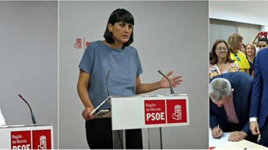 Candidatos socialistas a las primarias del PSRM