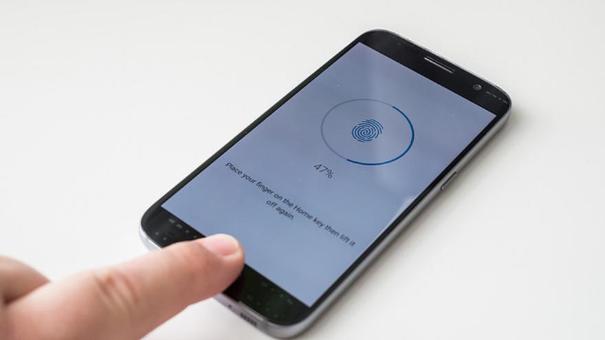 Un Samsung Galaxy S7 a punto de ser desbloqueado