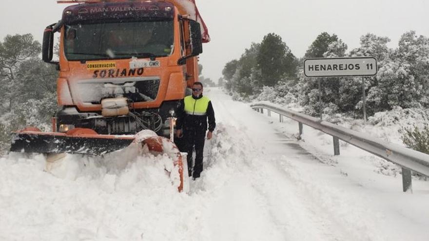 Carretera en la provincia de Cuenca