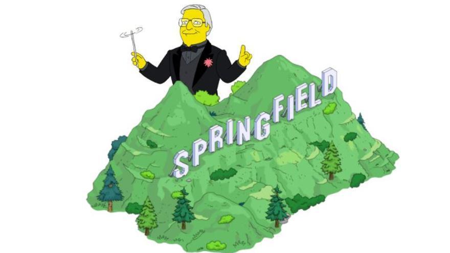 Alf Clausen, el compositor de los 'Los Simpson' desde 1992